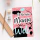 Postkarte - Für die beste Mama der Welt