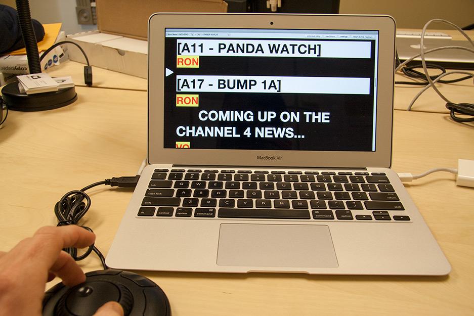 Teleprompter  Rundown Creator  webbased TVradio rundown software