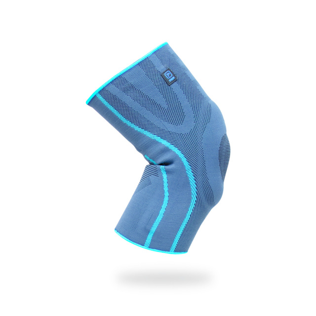 Active系列 彈性耐用邊緣全矽膠保護護膝 Elastic knee support with silicone padding and side stabilizers P701