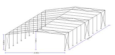 Steel Portal Frame EC3