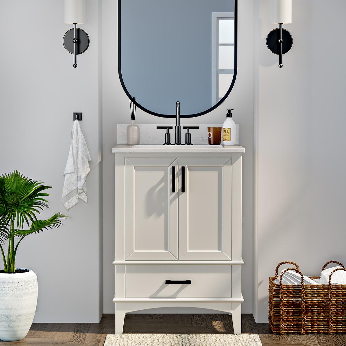 runfine emily 24 single sink vanity