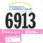 Presented by JPMorgan Chase, finish time 35:34, pace 8:53 — at Central Park.