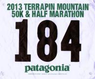 Terrapin Mountain 50k 2013. Finished in 6:22:45. — at Terrapin Mountain.