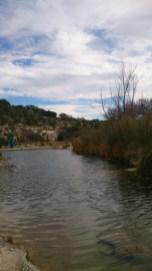 River side run towards to Pavillion Hall
