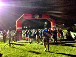 Lets the run begin - photo by Karen Braswell