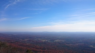 The view over the Gertrude's summit