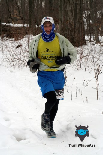 Mike the 1st guys in 50k - Photo by Otto