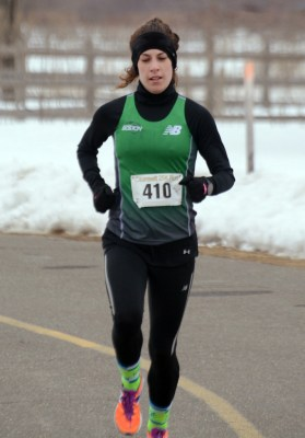 Caitlin Ude for 1st female overall - photo from GLIRC website