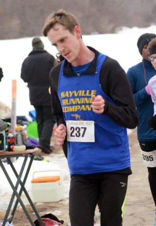 Colin Culhane 1st overall for 25k - photo from GLIRC website