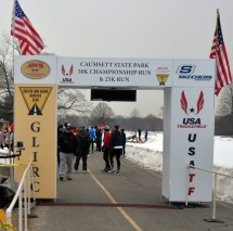 The Start/Finish line - photo from GLIRC website