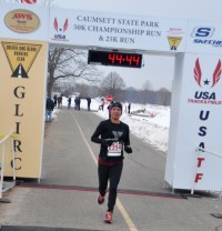 Keila Merino 3rd female overall - photo from GLIRC website
