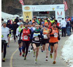 50K starting line - photo from GLIRC website