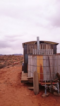 The ingenious hot tub, hot shower, and zero waste restroom.