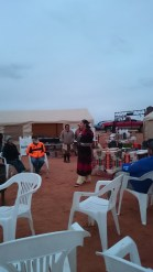 Ann Marrie was explaining about female role in Navajo family/community