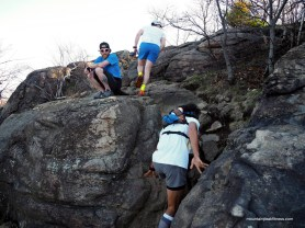 I was near to the top, I swear I didn't fart that time - photo by Mountain Peak Fitness