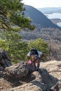I was climbing the Ridge - photo by Katherine Van Hawkins