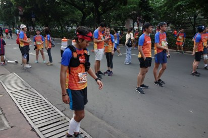 I was dying to walk back to the starting line