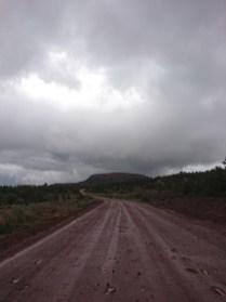 Muddy trail to heaven, or mud heaven