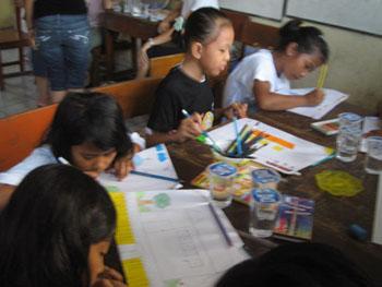 Bulir Padi Drawing Day 2007