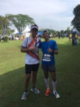 Me with Wira, one of the Canirunners