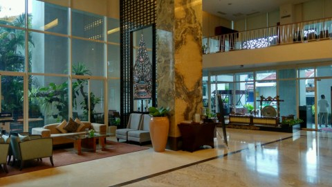 My fancy hotel, Jambuluwuk