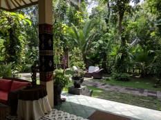 Rumah Boedi Private Residence Borobudur, front yard