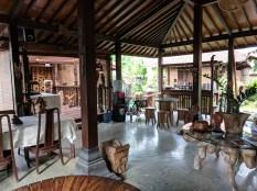 Omah Garengpoeng, dining area