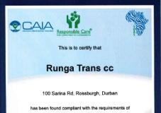 Accreditations and Memberships | Runga Trans