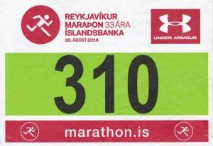 2016 38 - Reykjavik Marathon August 20 2016