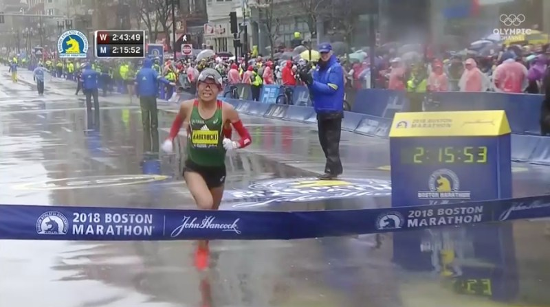 yuki kawauchi maraton boston 2018