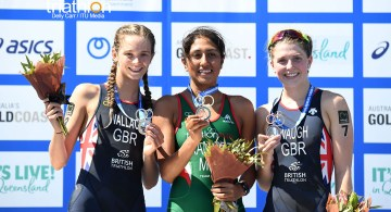 Cecilia Ramírez campeona Junior del ITU World Triathlon Grand Final