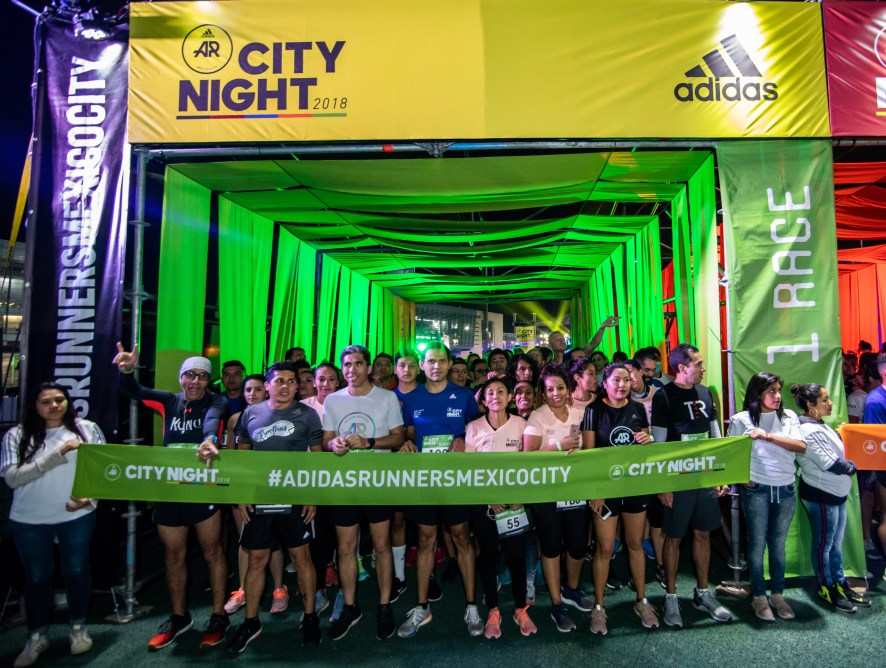 adidas running celebra con City Night