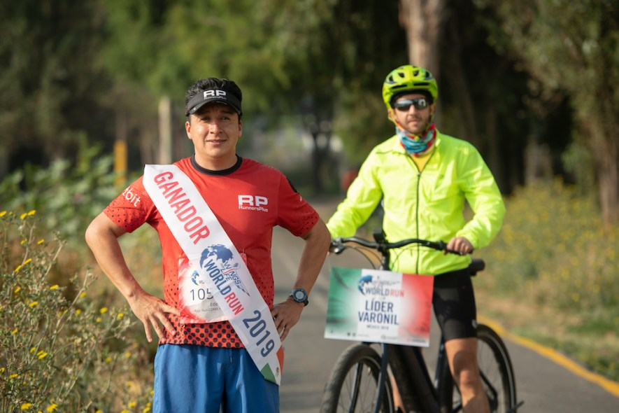 Eder Zulaica Wings for Life World Run
