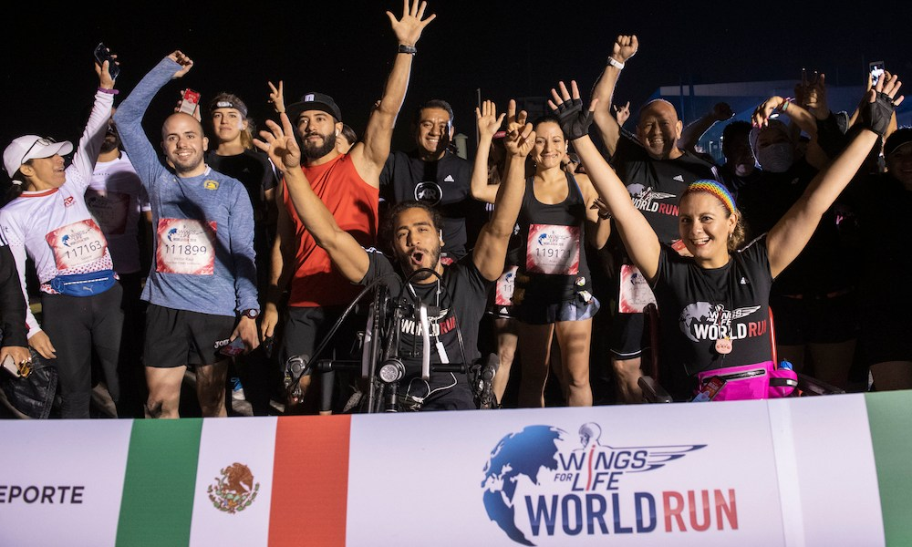 Wings for Life World Run México Xochimilco