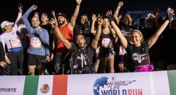 La carrera Wings for Life World Run recauda más de 75 millones de pesos