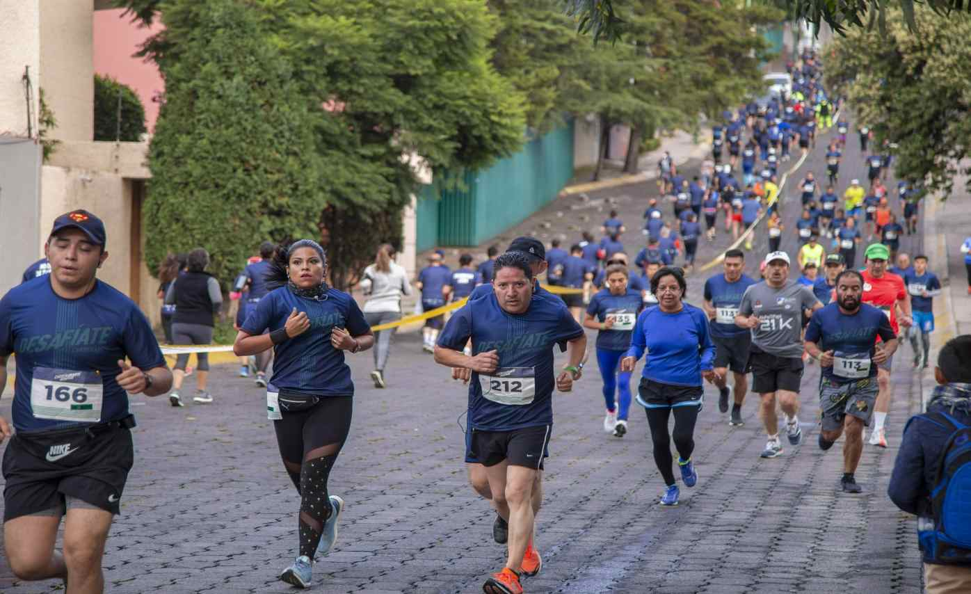 blue race carrera marti 2019