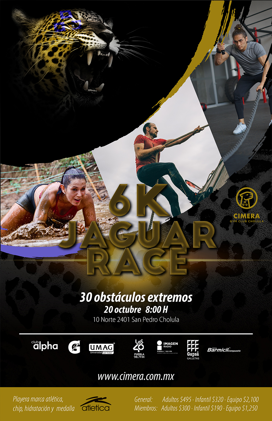 carrera jaguar cholula 2019