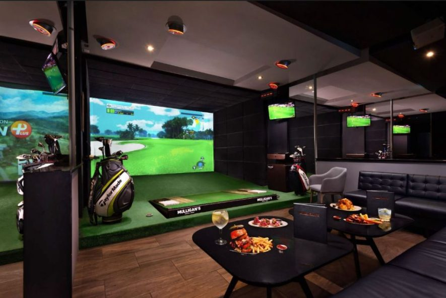mulligans golf simulador mexico city