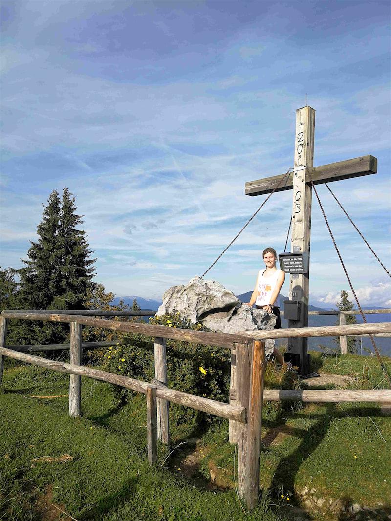 Runmylean läuft vom Weitental in Bruck an der Mur über den Wald auf den Hochanger. Trailrunning bzw. Bergläufe machen ihr großen Spaß!