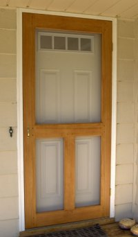 The RunnerDuck Screen Door plan, is a step by step ...