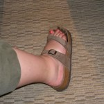 Nice cankle!