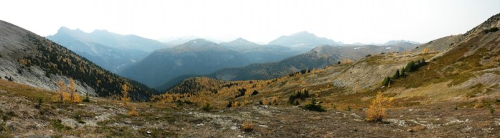 Harvey Pass Panorama