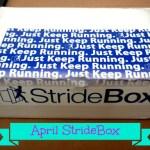 April StrideBox Reveal