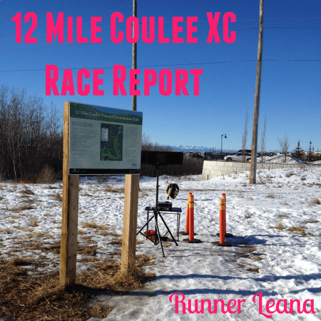 12 Mile Coulee XC Race Report
