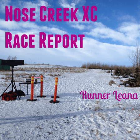Nose Creek XC Race Report