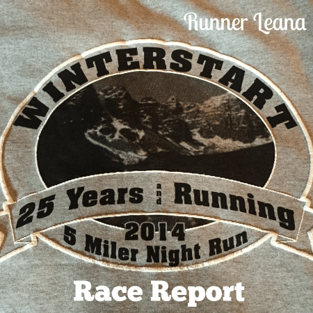 Banff Winterstart 5 Miler Race Report