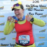 Race Report: 2015 Walt Disney World Half Marathon