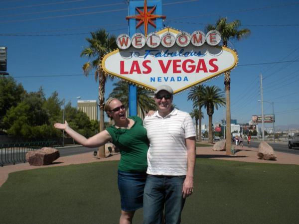 feeling under the weather in Las Vegas was no fun...