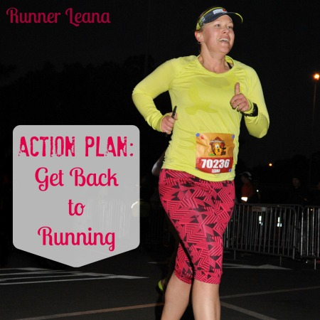 Action Plan to get back to running
