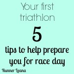 Five Tips for Your First Triathlon